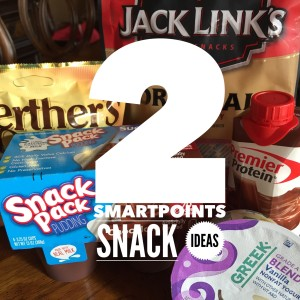 two smartpoints snacks