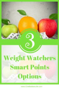 Weight Watchers Smart Points Options